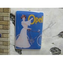 """Panneau publicitaire """"Opel"""""""
