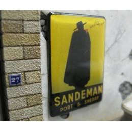 """Panneau publicitaire """"Sandeman"""""""