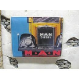 """Panneau publicitaire """"Man"""""""