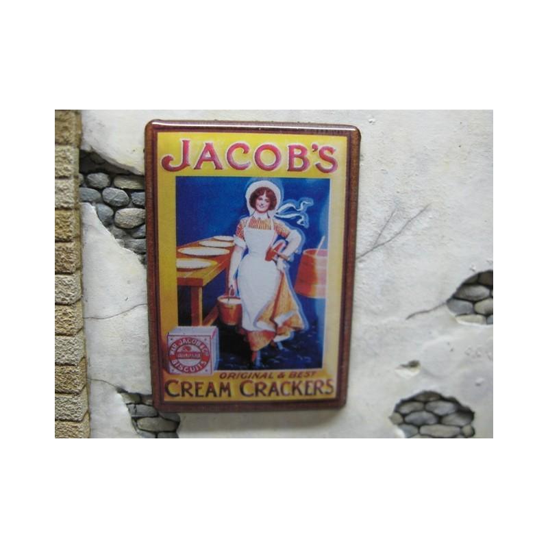 """Panneau publicitaire """"Jacob's"""""""