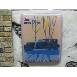 """Panneau publicitaire """"Mercedes Benz"""""""