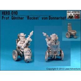 """Prof. Günther """"Rocket"""" von Donnerhof"""