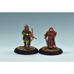 Robin des bois et frère Tuck