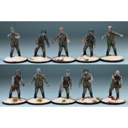Zombies soldats allemands