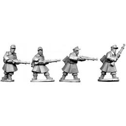 SWW020 - Soldat en manteau avec fusils I