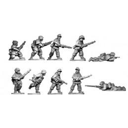 SWWB26 Section fin de guerre en tenue camouflée II