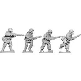 SWW071 Infnaterie fin de guerre/hiver avec fusils