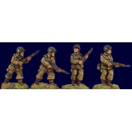 SWW311 - Parachutiste US avec fusils