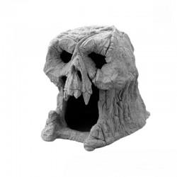 Grotte en forme de tête de mort