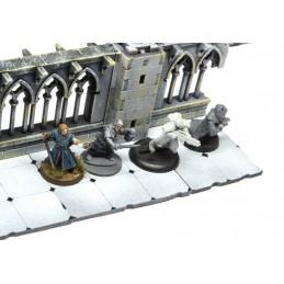 Ruines gothiques de cloître