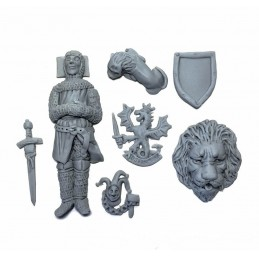 Accessoires pour tombeau de chevalier