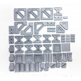 Pièces métalliques pour customisation