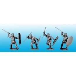 Cannibales avec lances