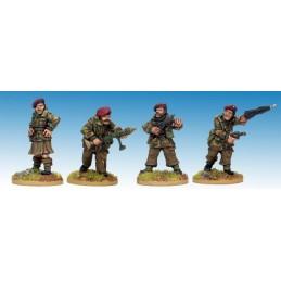SWW167 British Airborne Commandement et personnages