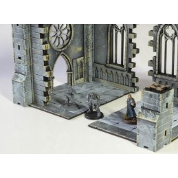 Chapelle gothiques en ruines