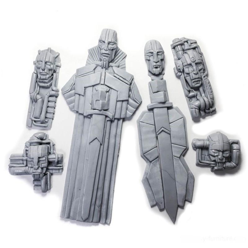 Bas reliefs pour temple/vaisseau