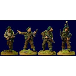 SWW150 - Lord Lovat's Commandos - commandement