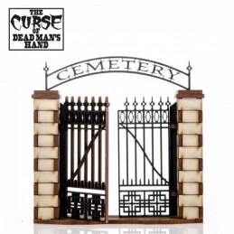 Porte pour cimetière