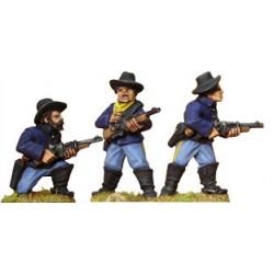 AWW052 cavaliers démontés avec carabines