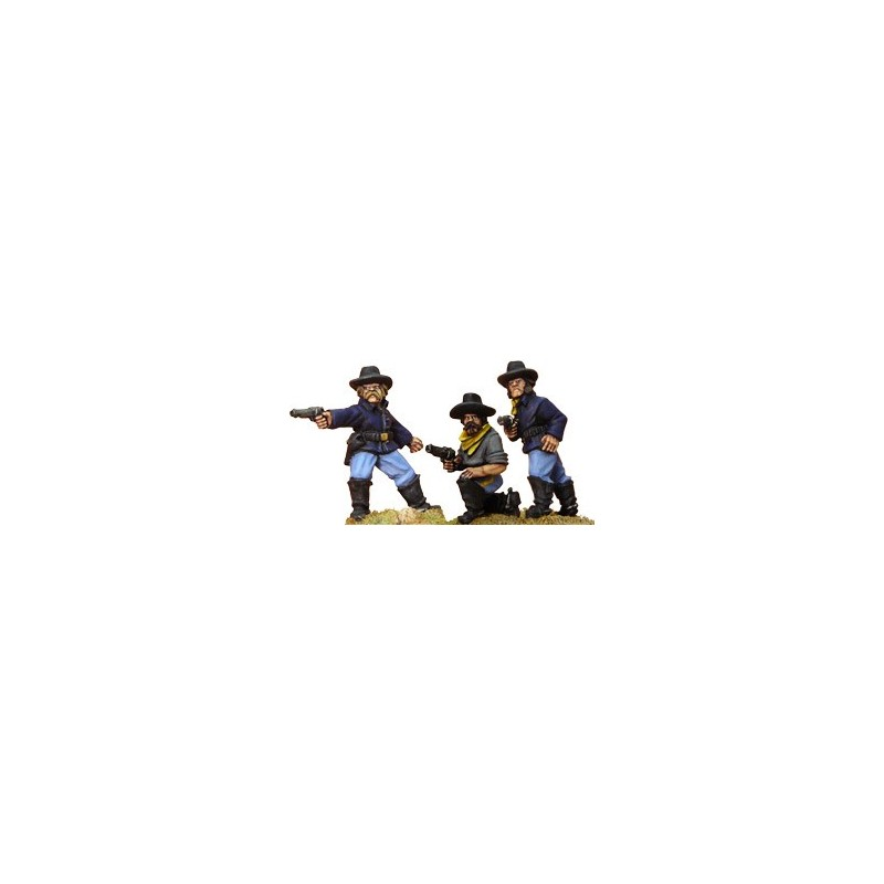 AWW053 cavaliers démontés avec pistolets