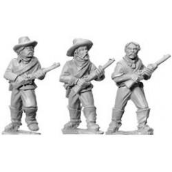 AWW055 cavaliers démontés avec carabines II