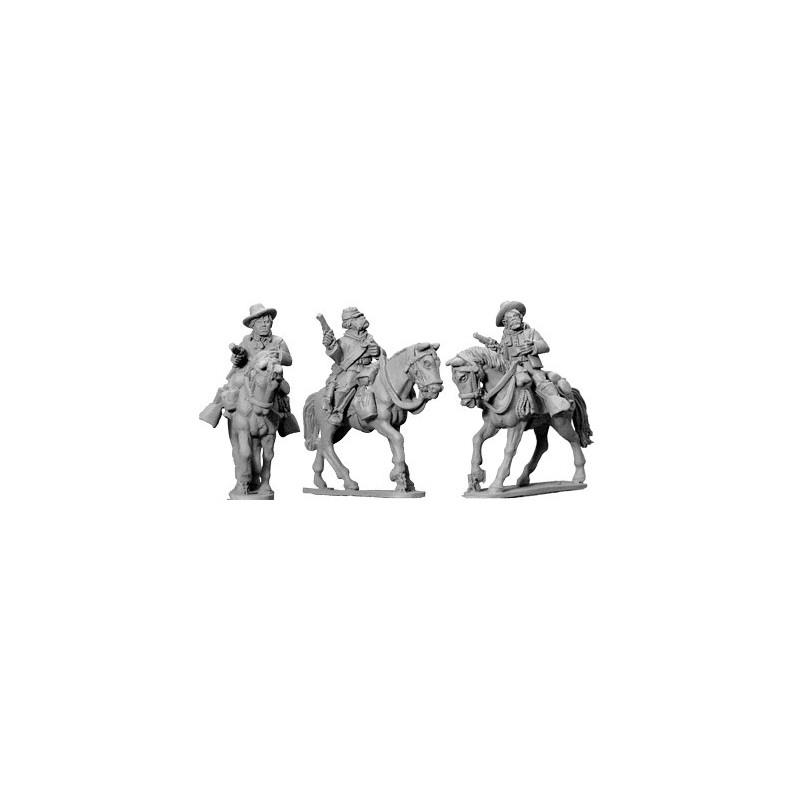 AWW059 cavaliers montés avec pistolets II