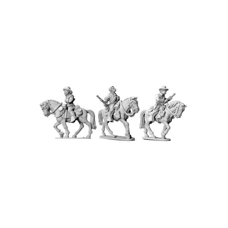 AWW060 cavaliers montés avec carabines II