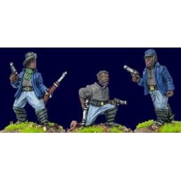 AWW082 Buffalo soldiers avec pistolets