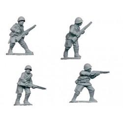 WWR001 Infanterie avec fusils I