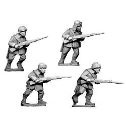 WWR023 Infanterie en uniforme d'hiver avec chapka