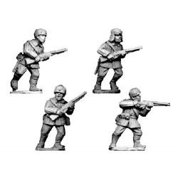 WWR024 Infanterie en uniforme d'hiver avec chapka