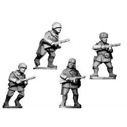 WWR026 Infanterie SMG en uniforme d'hiver avec chapka