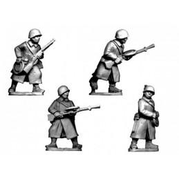 WWR037 Infanterie LMG en manteau
