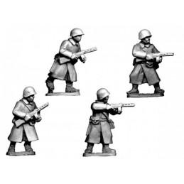 WWR038 Infanterie SMG en manteau
