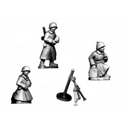 WWR041 Mortier (servants en manteau)