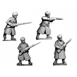 WWR042 Infanterie en manteau avec chapka