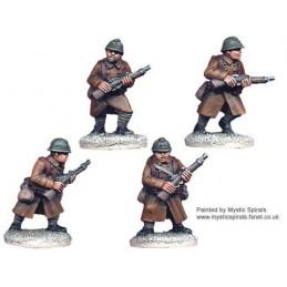 WWF004 - Infanterie avec carabines