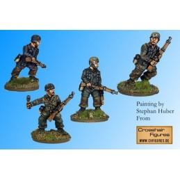 WWG101 - Fallschirmjager- parachutistes avec fusils