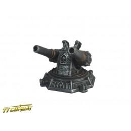 Plateforme de canons de siège