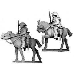 B023 - Cavalerie avec épées