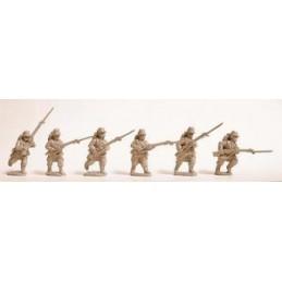 F101 Infanterie avançant