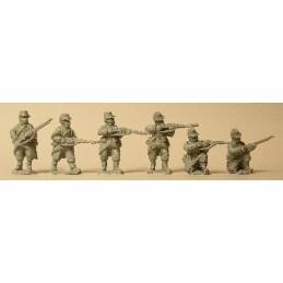 F104 Infanterie tiraillant avec paquetage léger