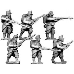 BL101 - Infanterie en shako avec paquetage