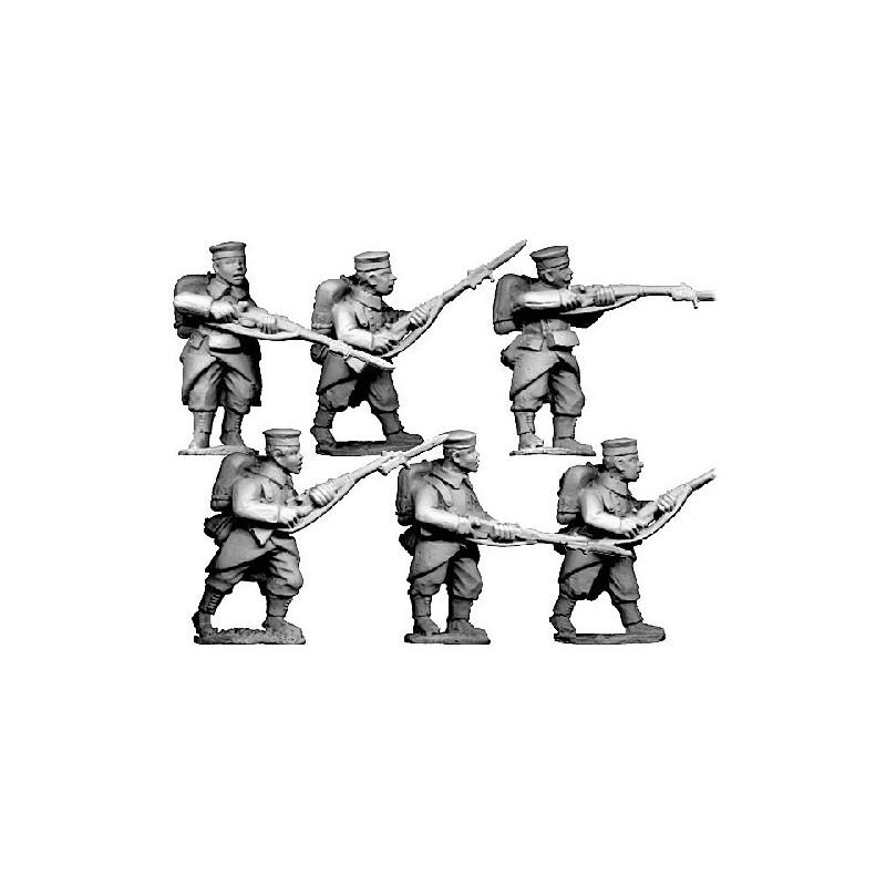 BL102 - Grenadiers/infanterie en casquette avec paquetage