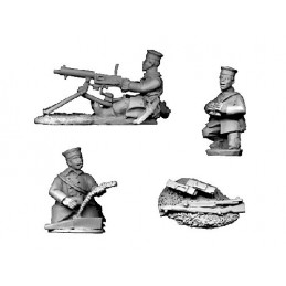 BL105 - Mitrailleuse belge Maxim avec grenadiers