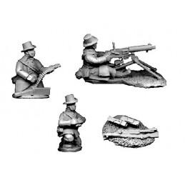 BL106 - Mitrailleuse Maxim avec carabiniers