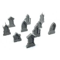 Pierres tombales gothiques