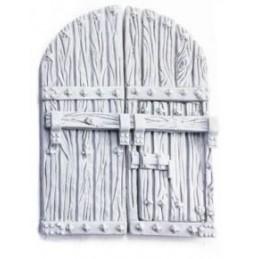 Porte à doubles battants  + porte cochère