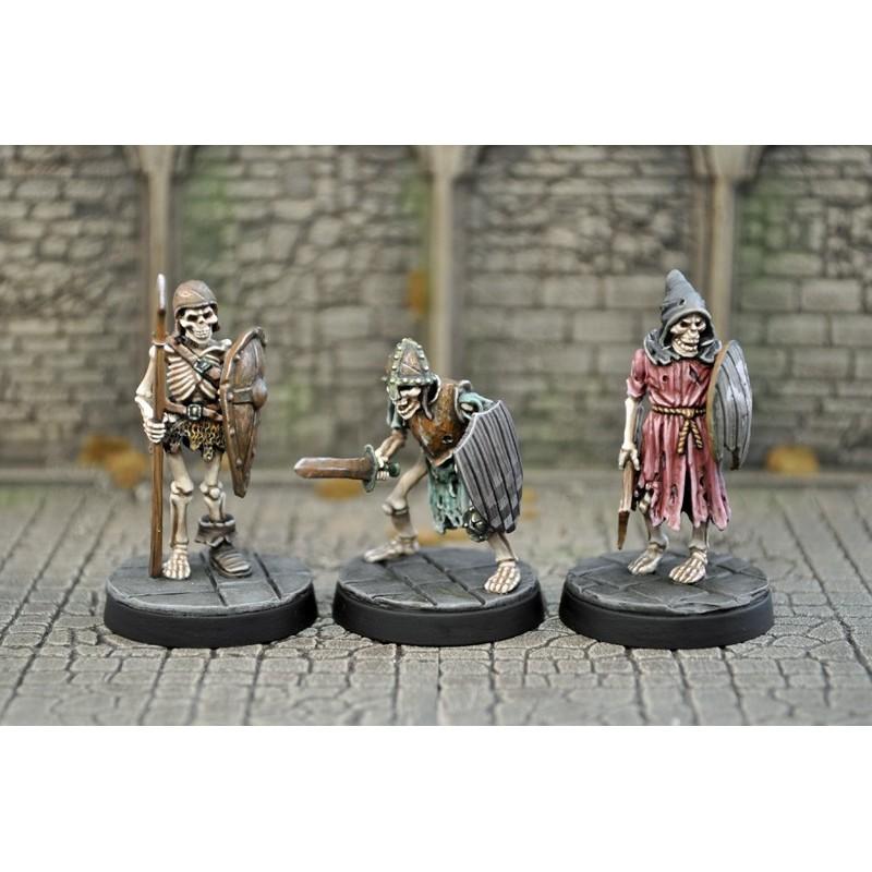 Squelettes en armure I
