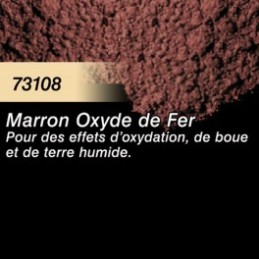 73108 Pigment Marron Oxyde de Fer